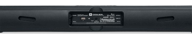 conectar barra de sonido jbl cinema sb250