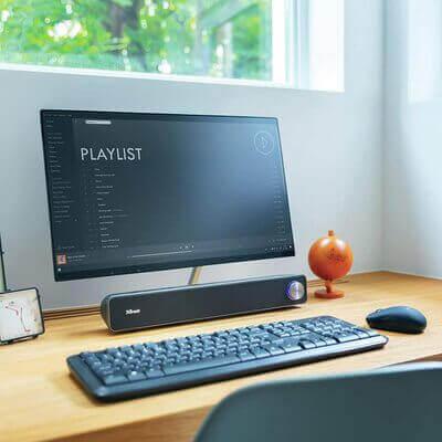 barra sonido monitor